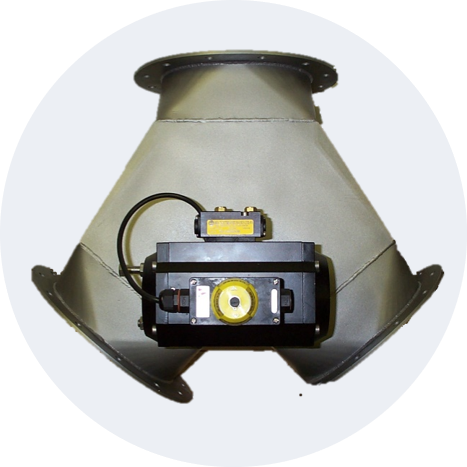 Gravity Flap Diverter Valves (available in ATEX)